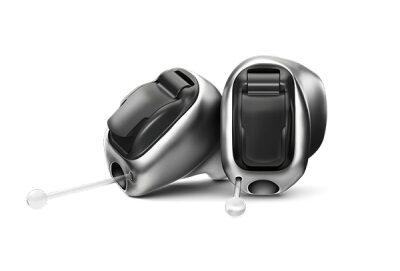 フォナック チタン製耳あな型補聴器