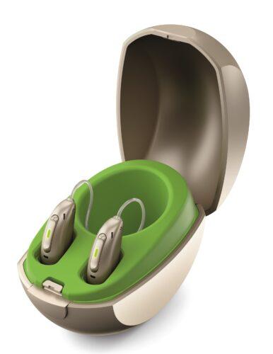 オーデオパラダイス 充電式耳掛け補聴器